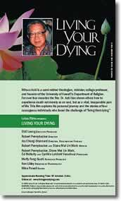 Living Your Dying Video Back Cover